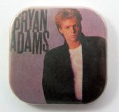 Bryan Adams - 'You Want It You Got It' Square Badge